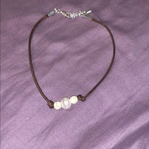 cruza Accessories - pearl anklet